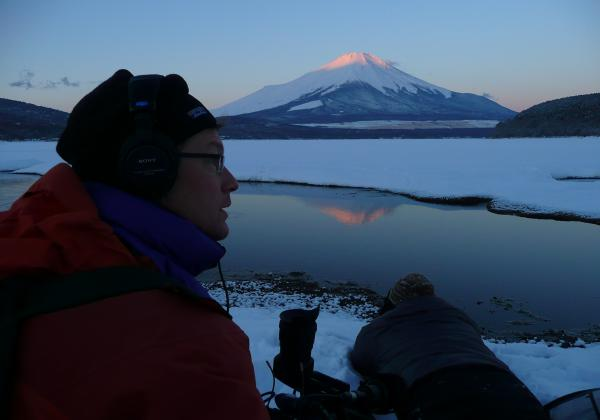 A cold morning - Mt. Fuji, Japan