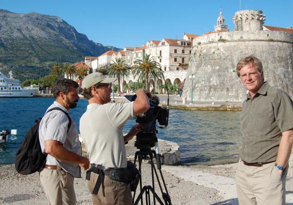 Dubrovnik, Croatia, with Rick and Simon