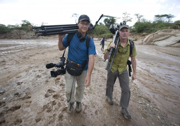 With Art Wolfe in Ethiopia